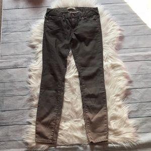 Free People Grey Ombré Skinny Jeans sz 26